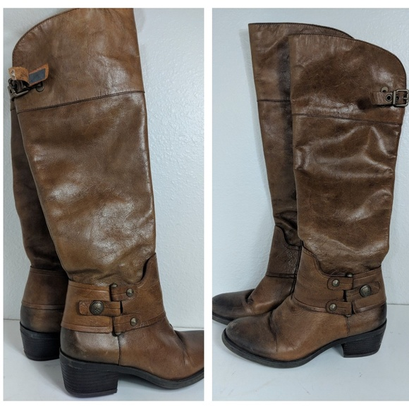 2706eee11d9 Vince Camuto Shoes - Vince Camuto Brooklee Sz 6.5 Brown Distressed Boot